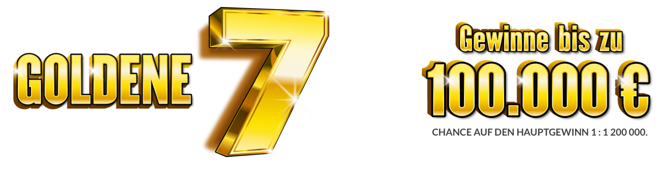 Goldene 7 Rubbellos